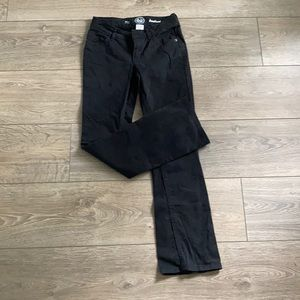 So Authentic American Heritage Black Bootcut Jeans